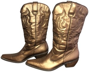 Groove Copper Boots
