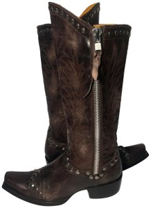 "Old Gringo Razz 13"" Cowgirl Size 6 Women Size 6 Brown Boots"