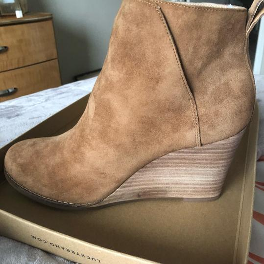 Lucky Brand Honey oil suede Boots