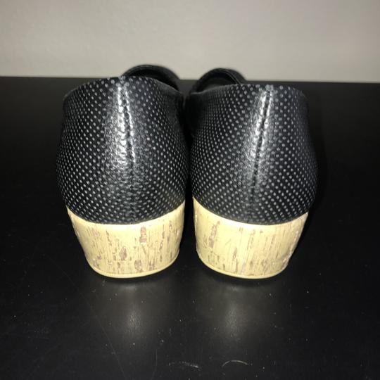 Aerosoles Black & Tan Wedges