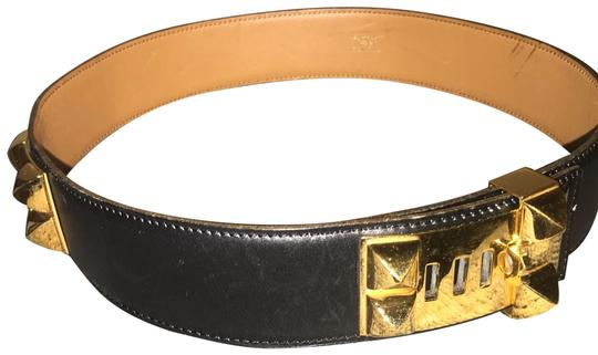 Preload https://img-static.tradesy.com/item/24480614/hermes-black-collier-de-chien-belt-0-1-540-540.jpg