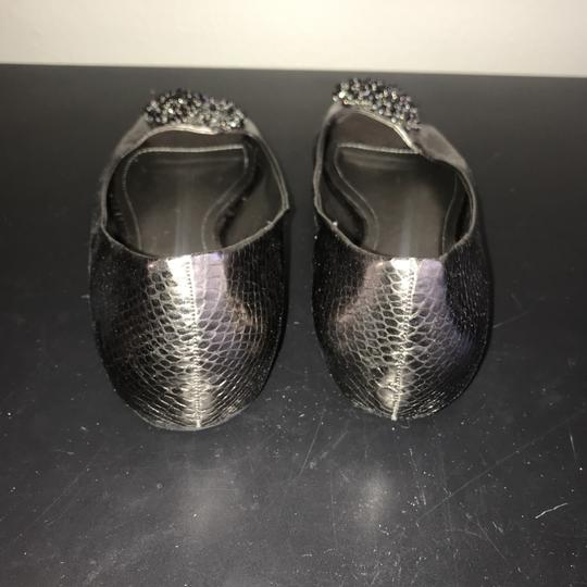 Kenneth Cole Reaction Silver / Copper Metallic Flats