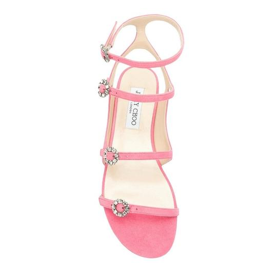 Jimmy Choo Flamingo / Crystal Sandals