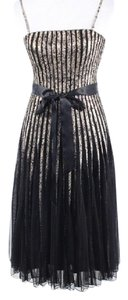 Cache Sleeveless A-line Tulle Ballet Cocktail Dress