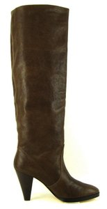 Michael Kors Suede Leather Dark Brown Boots