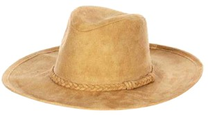Other New Faux suede panama hat