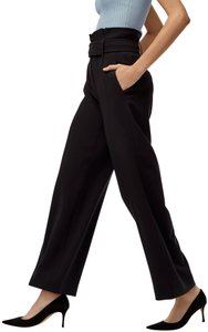 Aritzia Wide Leg Pants Black