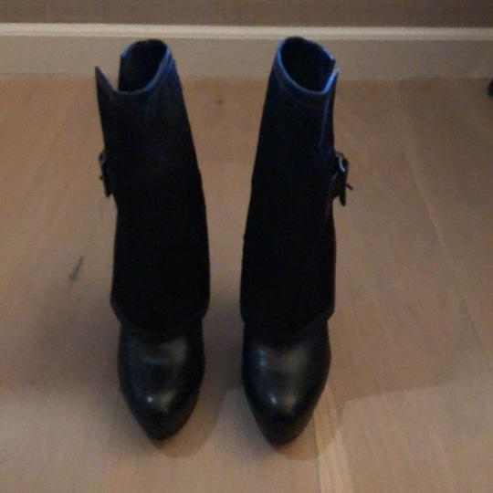 Christian Louboutin Black with signature red sole Boots
