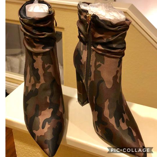 Cycle Boutique Camo Boots