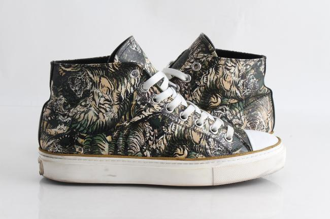 Item - Multicolor Tiger High-top Sneakers Shoes