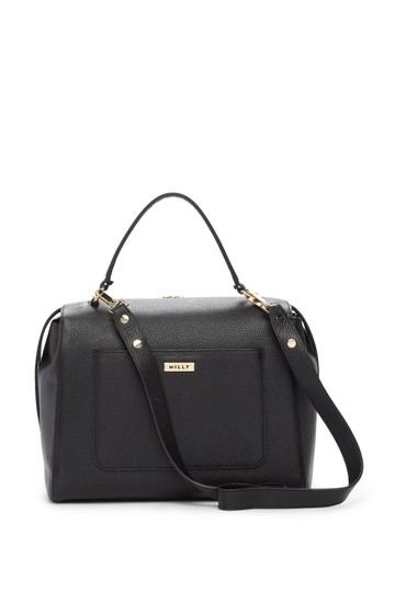 Preload https://img-static.tradesy.com/item/24480804/milly-astor-large-black-lush-faux-fur-and-leather-satchel-0-1-540-540.jpg
