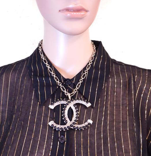 Chanel Extremely RARE Oversize Extra Huge Large CC XXXL gold necklace
