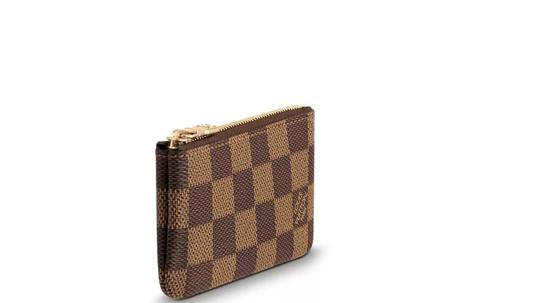 Louis Vuitton Authentic Louis Vuitton Monogram Pochette Key Coin Case Pouch M62650