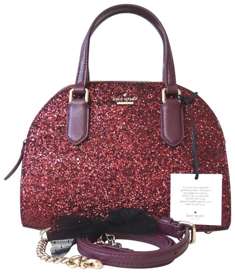 Preload https://img-static.tradesy.com/item/24480900/kate-spade-laurel-way-mini-reiley-wkru-5628-red-glitter-satchel-0-1-540-540.jpg