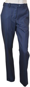 Jacquemus French Wool Chic Trouser Pants Navy
