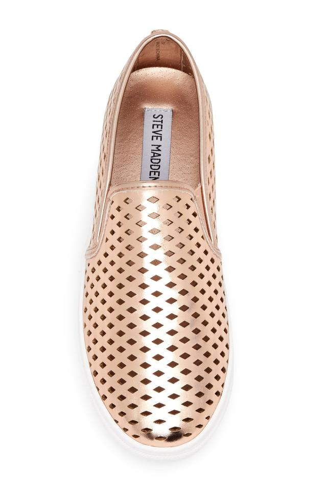 4320ab04201 Steve Madden Rose Gold Sneakers Flats Size US 8 Regular (M