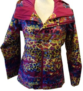 The North Face Winter Colorful Leopard Coat