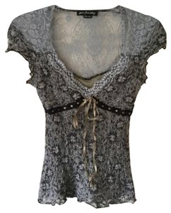 Ann Ferriday Top grays and black