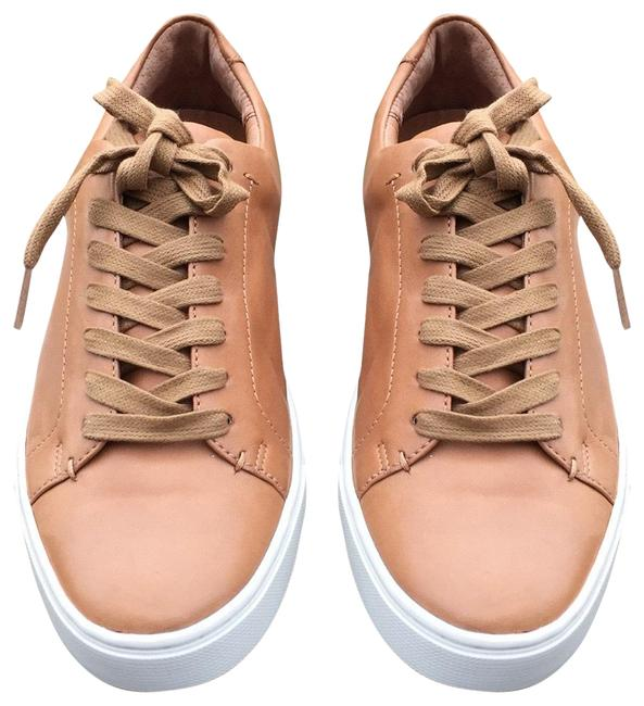 Item - Brown New Ivy Low Lace Genuine Italian Leather Lace Up Sneakers Size US 9.5 Regular (M, B)