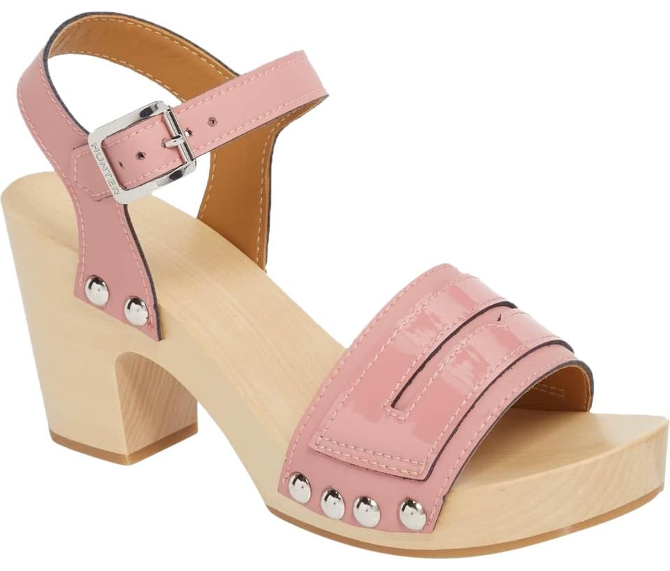 9ceb43b0190 Hunter Pale Rose Refined Penny Loafer Clog Sandals Size EU 41 ...