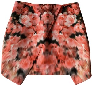 Finders Keepers Mini Skirt Red, Pink, White
