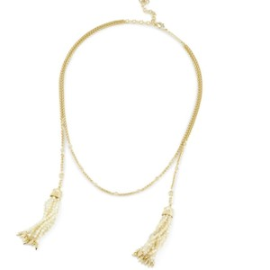 Kendra Scott Kendra Scott Lariat Ivory Gold Mother of Pearl Monique Necklace