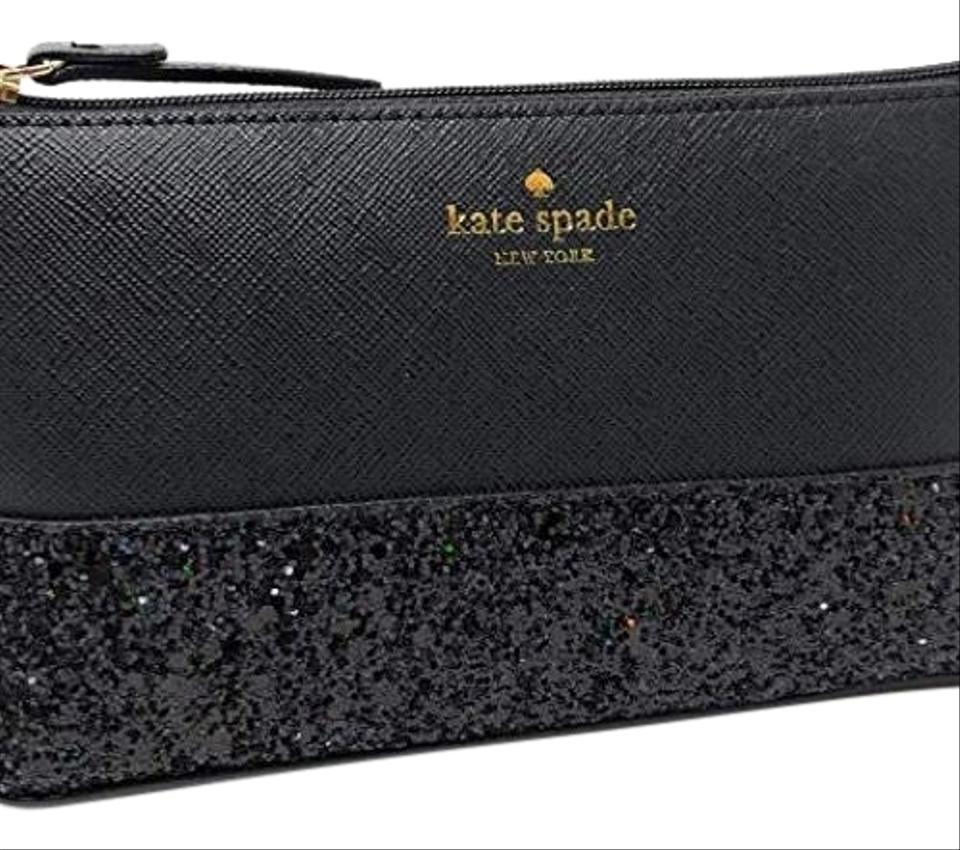 99d07ddefe8f Kate Spade Kate Spade Greta Court Shiloh Makeup Cosmetic Travel Case Black  ...
