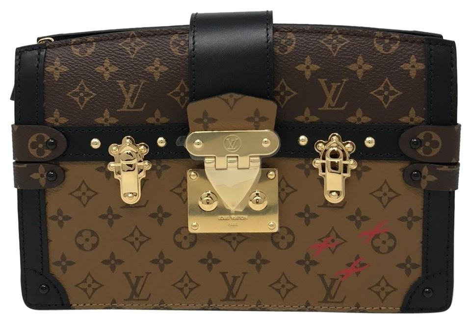 85181ff3e3ef Louis Vuitton Trunk Clutch Metis Petite Malle Malle Cross Body Bag Image 0  ...