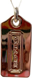 Coach Brand new in jewelry Pouch-Dog Tag Necklace