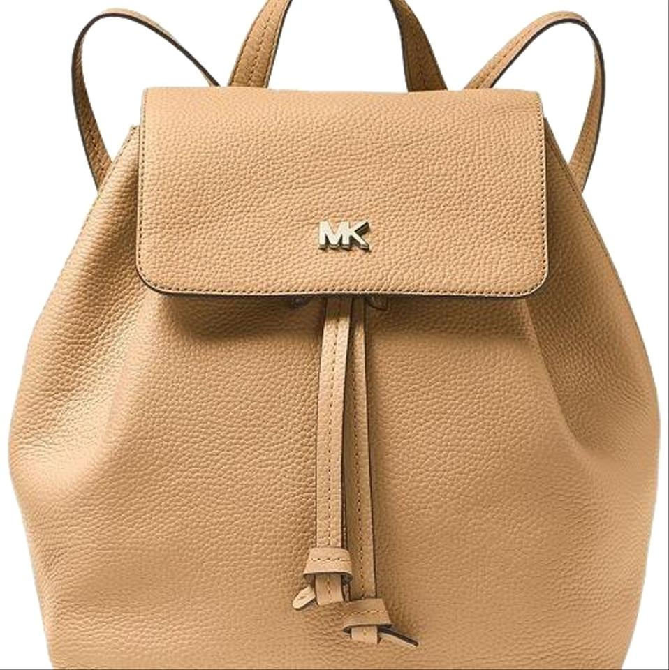 73890bcb9eb9 Michael Kors Junie Butternut Backpack - Tradesy