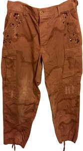 The Great China Wall Cargo Pants vintage camouflage