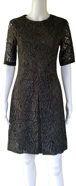 Item - Dark Green Arlene Inverted Pleat Lace Short Night Out Dress Size 2 (XS)
