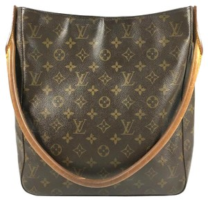 Louis Vuitton Shoulder Vintage Looping Hobo Bag