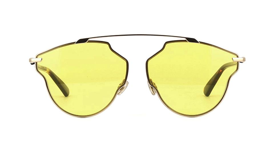 045a86e46b Dior Yellow New So Real Pop Chic Style 000ho Free 3 Day Shipping - So Real  Sunglasses