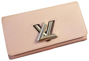 Louis Vuitton Louis vuitton twist epi leather wallet rose