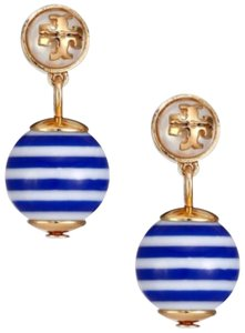Tory Burch Tory Burch Gold Bule Earring