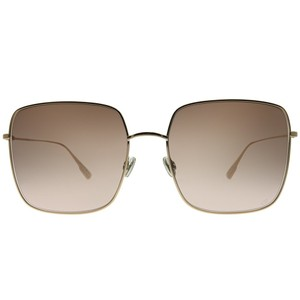 a71b98922a Dior Champagne New Stellaire 1 Oversized Square Rose Gold Sunglasses ...