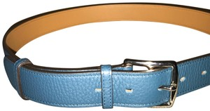 Hermès Hermès etrevier belt in blue