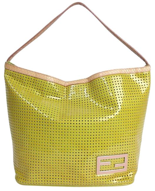 Item - Lime Green Patent Leather Tote