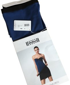 electric blue and black Maxi Dress by Wolford