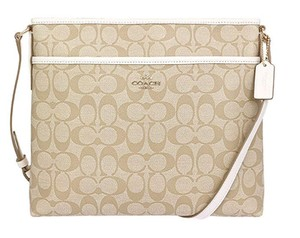 Coach Cross Body File Massenger Signature 34938 Shoulder Bag