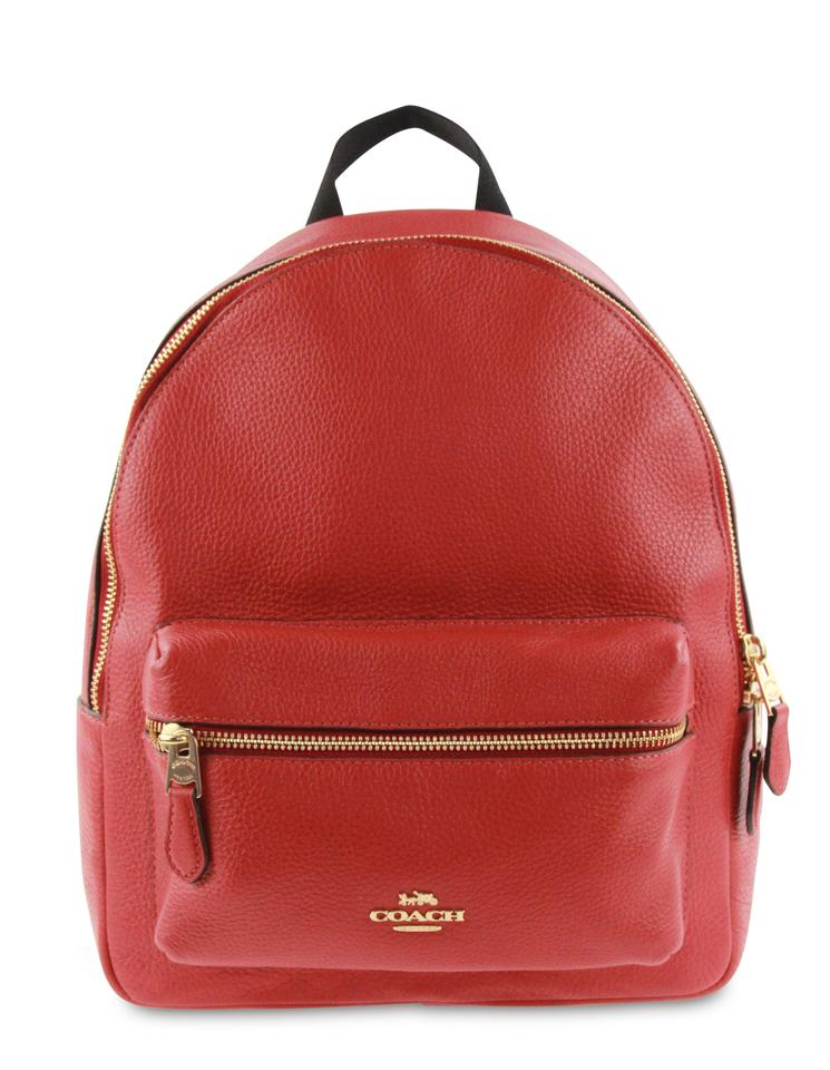 3c78bba92ff7 Coach Leather Charlie Backpack Image 0 ...