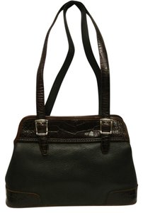brighton Tote in black/brown