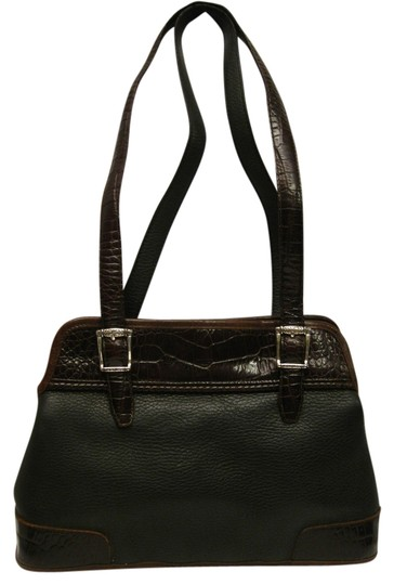 Preload https://img-static.tradesy.com/item/2448523/brighton-towtone-blackbrown-leather-tote-0-0-540-540.jpg