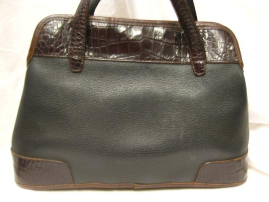 brighton Tote in black/brown Image 4