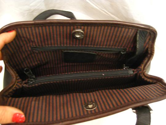 brighton Tote in black/brown Image 6