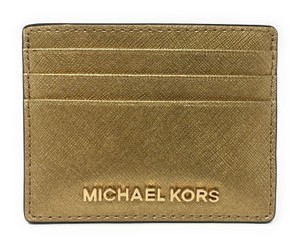 Michael Kors Jet-Set Travel leather Saffiano Card Holder