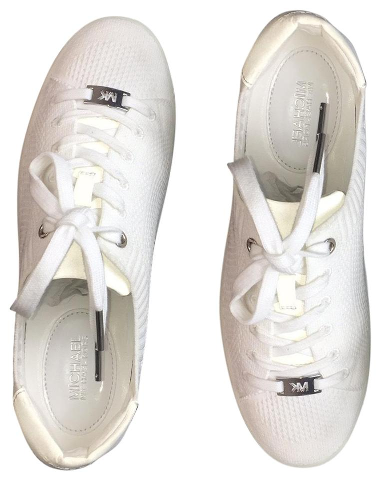 Discard Proficiency dynamic  Michael Kors White New Women's Fashion Lace Up Sneakers Size US ...