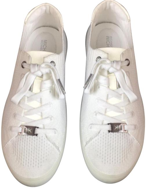 Item - White New Women's Fashion Lace Up Sneakers Size US 8 Regular (M, B)