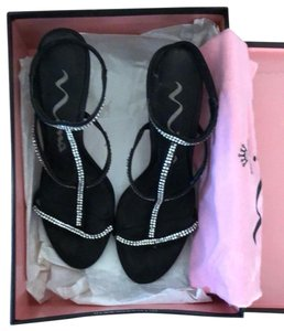 Nina black with rhinestones Formal